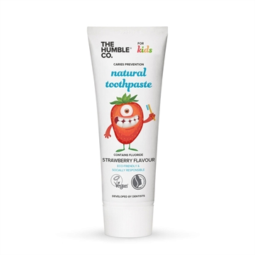 The Humble Co. - Natural Toothpaste (Kids - Strawberry)