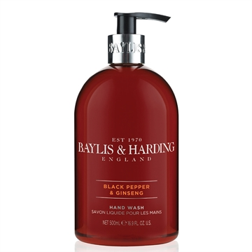 Baylis & Harding, Black Pepper & Ginseng (500 Ml.)