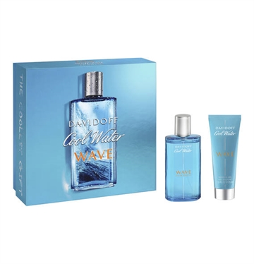 Davidoff Cool Water Wave Man Eau de Toilette Spray 75ml Shower Gel 75ml