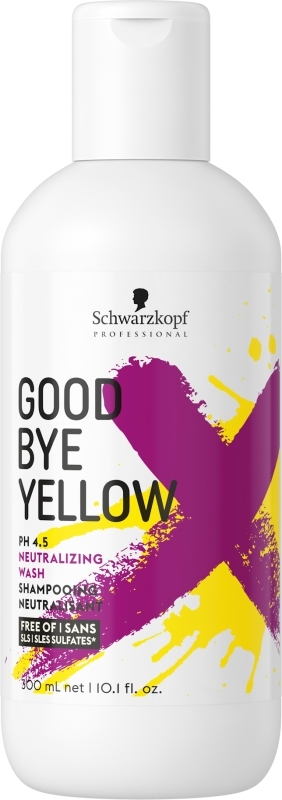 Schwarzkopf GOODBYE YELLOW SHAMPOO 300ML