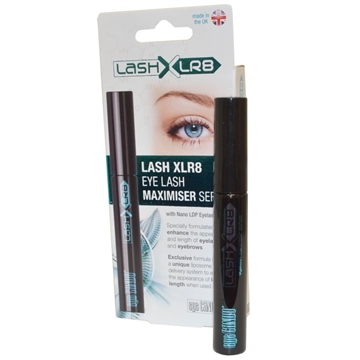 Lash XLR8 Eye Lash Maximiser Serum 9ml with Nano LDP Eyelasher