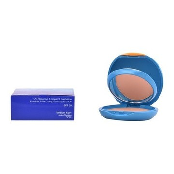 Make-Up- Grundierung Uv Protective Shiseido (SPF 30) Medium Ivory - 12 g