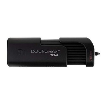 Pendrive Kingston DT104 USB 2.0 Schwarz