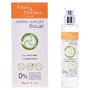Damenparfum Biolab Ginger & Curcuma Alyssa Ashley EDC