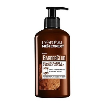 Bartshampoo Men Expert Barber Club L'Oreal Make Up (200 ml)