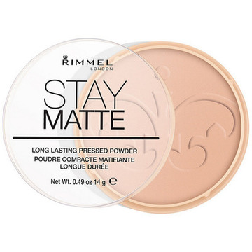 Kompaktpuder Stay Matte Rimmel London 006 - warm beige 14 g