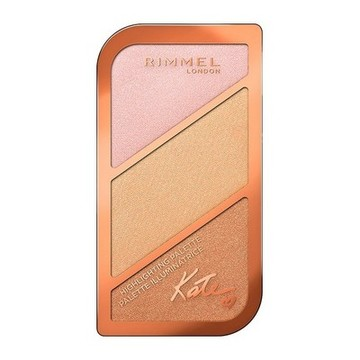 Luminizer Kate Sculpting Rimmel London 002 - Coral Glow - 18,5 g