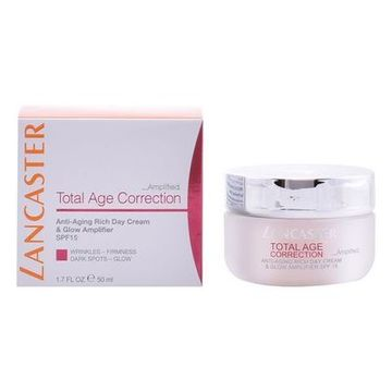 Anti-Aging-Tagescreme Total Age Correction Rich Lancaster Spf 15 (50 ml)