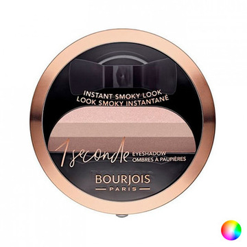 Lidschatten Stamp It Smoky Bourjois 001 - black on track