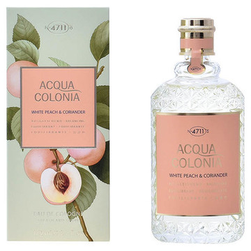 Unisex-Parfum Acqua 4711 EDC White Peach & Coriander 170 ml