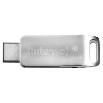 USB Pendrive INTENSO 3536490 64 GB Silberfarben