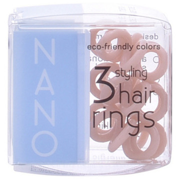 Haargummis Nano Invisibobble Pretzel Brown