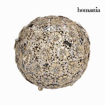 Gold blumen und schmetterling ball  - Art & Metal Kollektion by Homania