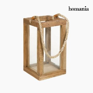 Laterne Holz - Autumn Kollektion by Homania