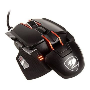 LED Gaming-Maus Cougar 700M 12000 DPI Schwarz Orange