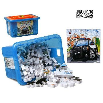 Puzzle mit Schachtel Junior Knows 9902