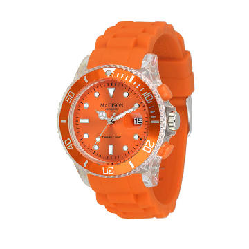 Unisex-Uhr Madison U4399-04 (40 mm)