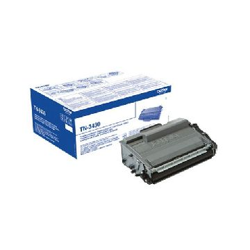 Original Toner Brother TN-3430 DCP-L5500DN Schwarz