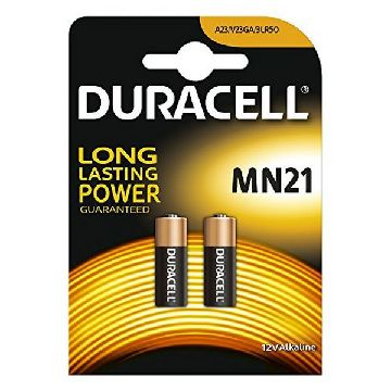 Alkali-Mangan-Batterie DURACELL Security DRB212 MN21 12V 1.5W (2 pcs)