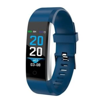 "Activity-Armband Denver Electronics BFH-16 0.96"" Blau"