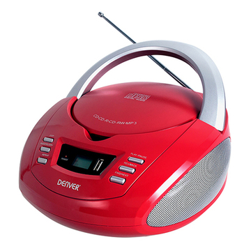 Radio/CD mp3 Denver Electronics TCU-211 FM 2W Rot