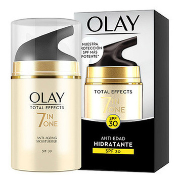Anti-Aging Feuchtigkeitscreme Total Effects 7 In One Olay (50 ml)