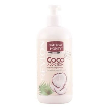 Feuchtigkeitsspendende Lotion Coco Addiction Natural Honey (400 ml)