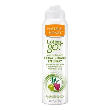 Extra nährende Körperlotion Lotion & Go! Natural Honey (200 ml)