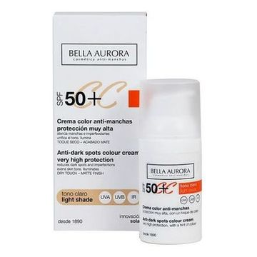 Anti-Fleckencreme Cc Cream Bella Aurora Heller ton 30 ml