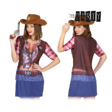 T-Shirt für Erwachsene Th3 Party 8270 Cowgirl