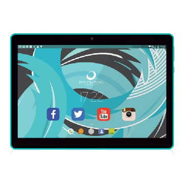 "Tablet BRIGMTON BTPC-1019QC 10"" 16 GB Wifi Quad Core Blau"