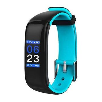"Activity-Armband BRIGMTON BSPORT-15-A 0,96"" OLED 150 mAh Bluetooth 4.0 Blau"