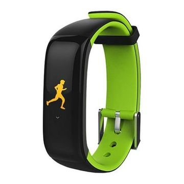 "Activity-Armband BRIGMTON BSPORT-15-V 0,96"" OLED 150 mAh Bluetooth 4.0 Grün"