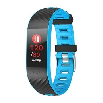 "Activity-Armband BRIGMTON BSPORT-16-A 0,96"" OLED Bluetooth Blau"