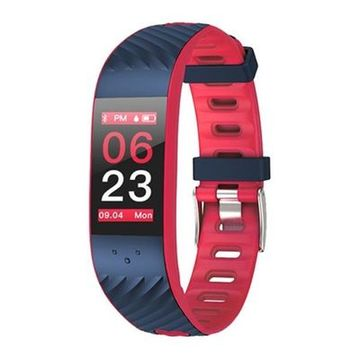 "Activity-Armband BRIGMTON BSPORT-16-R 0,96"" OLED Bluetooth Rot"