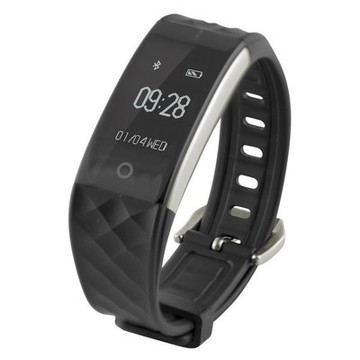 "Activity-Armband Fitness Band HR 0,96"" Bluetooth 90 mAh Schwarz"