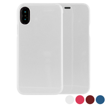 Handyhülle mit Folie Iphone X/xs Hard Case