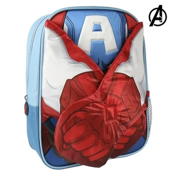 Kinderrucksack 3D Captain American The Avengers 78421