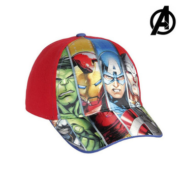Kinderkappe The Avengers 7448 (54 cm) Rot
