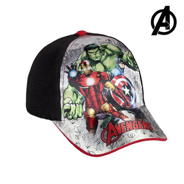 Kinderkappe The Avengers 7455 (54 cm) Schwarz