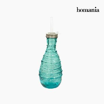 Glasflasche, recycelt - Pure Crystal Deco Kollektion by Homania
