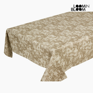 Tischdecke Champagner (135 x 200 x 0,05 cm) by Loom In Bloom