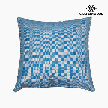 Puff Blau (90 x 90 x 25 cm) by Craftenwood