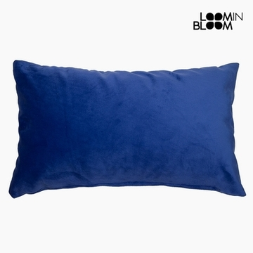 Kissen Polyester Blau (30 x 50 x 10 cm) by Loom In Bloom