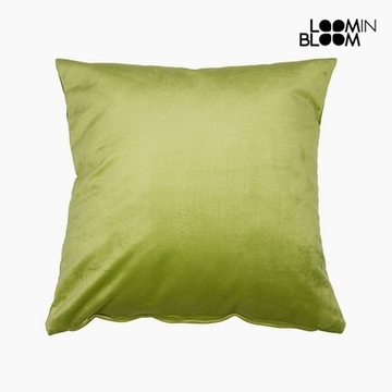 Kissen Polyester Pistazienfarben (45 x 45 x 10 cm) by Loom In Bloom