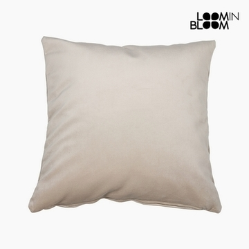 Kissen Polyester Beige (45 x 45 x 10 cm) by Loom In Bloom