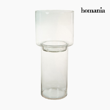 Kerzenschale Glas - Pure Crystal Deco Kollektion by Homania
