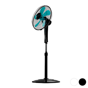 Freistehender Ventilator Cecotec ForceSilence 530 Power Connected 50W (Ø 40 cm) Schwarz