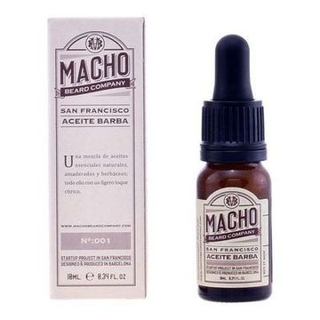 Gel & Shampoo 2 in 1 San Francisco The Macho Beard Company