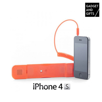 Anti Strahlungs Telefonhörer für iPhone Orange